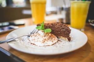 Just deserts or just desserts