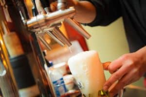 Balmy vs. Barmy Beer foam bubbles - orthotetrachidecahedrons