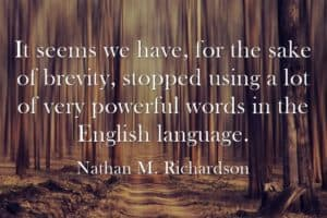 Nathan M Richardson quote
