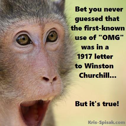 OMG - Winston Churchill letter
