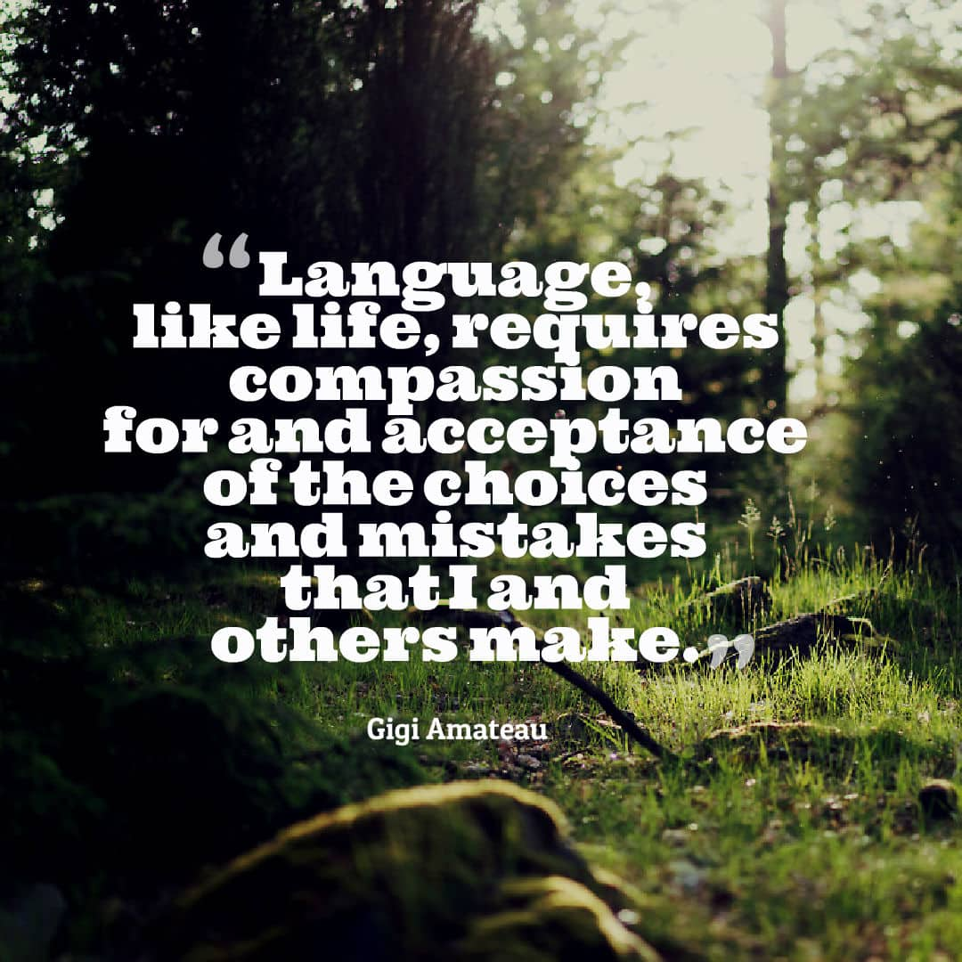 Gigi Amateau quote on compassion