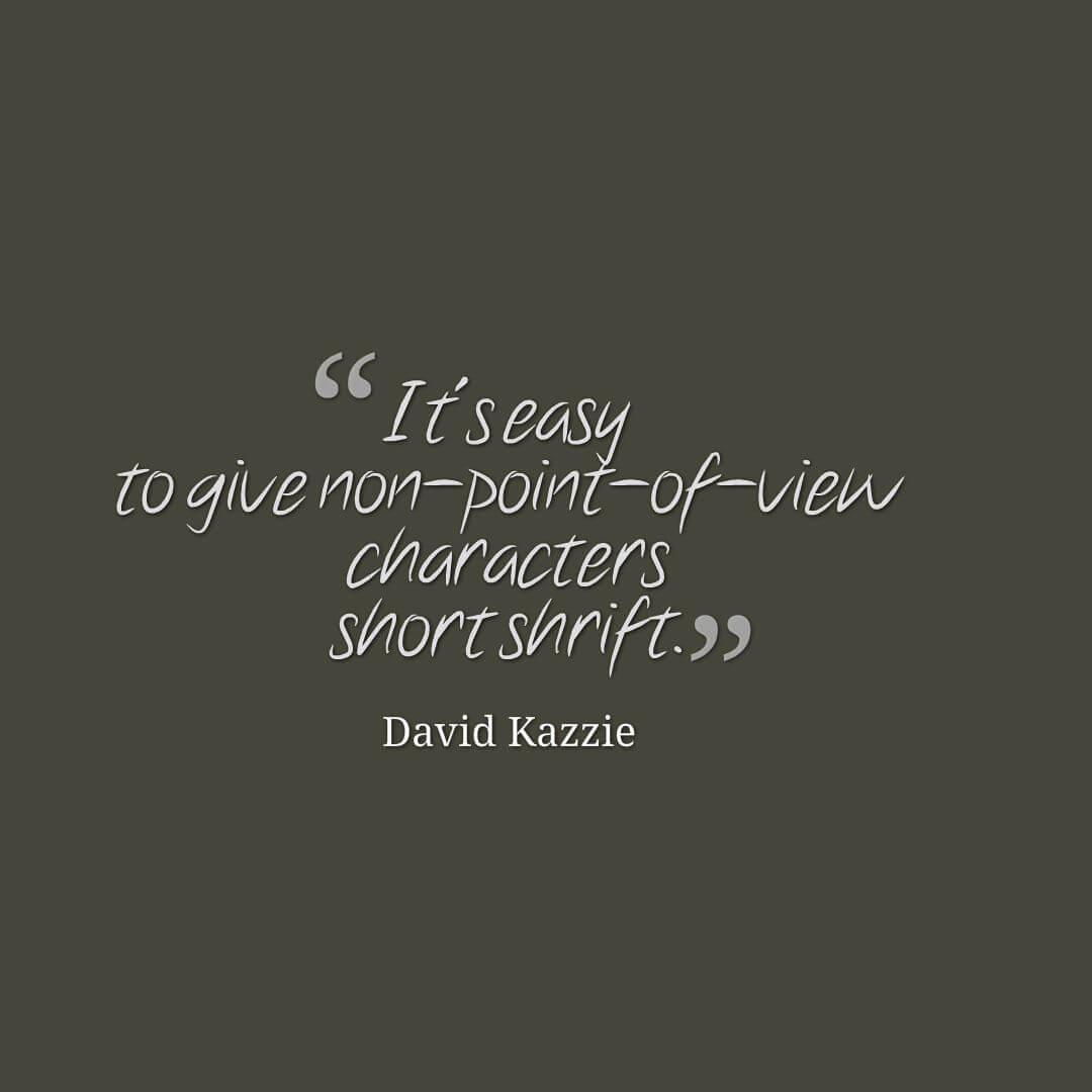 David Kazzie quote