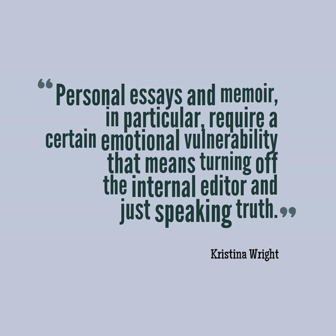 Kristina Wright editing quote 2