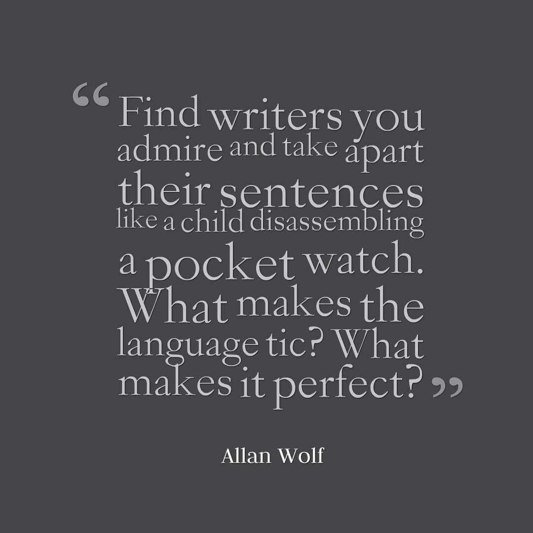Allan Wolf on Word Choice