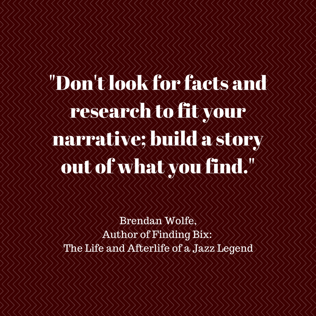 Brendan Wolfe - research quote