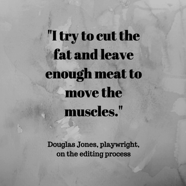 Authors on Editing: Interview with Douglas Jones