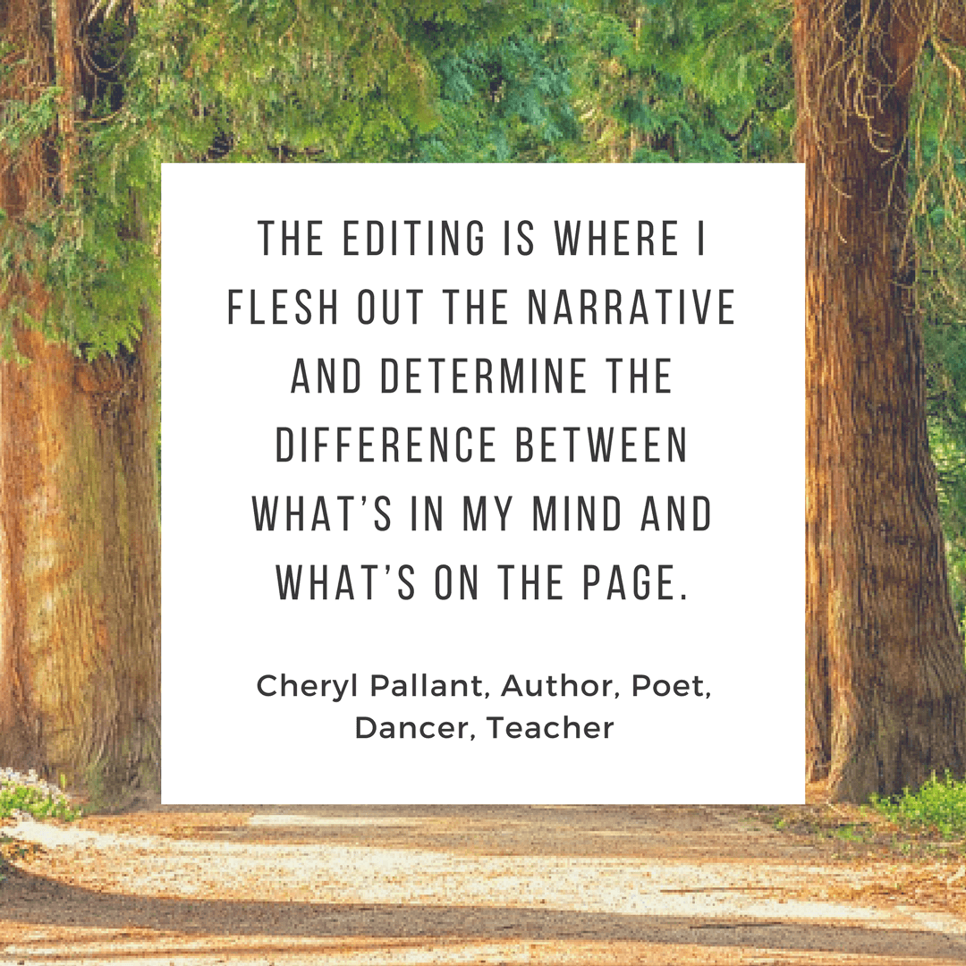 Cheryl Pallant editing quote