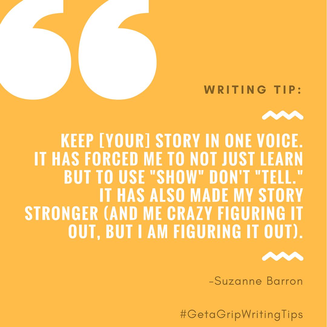 #GetAGripWritingTips 19