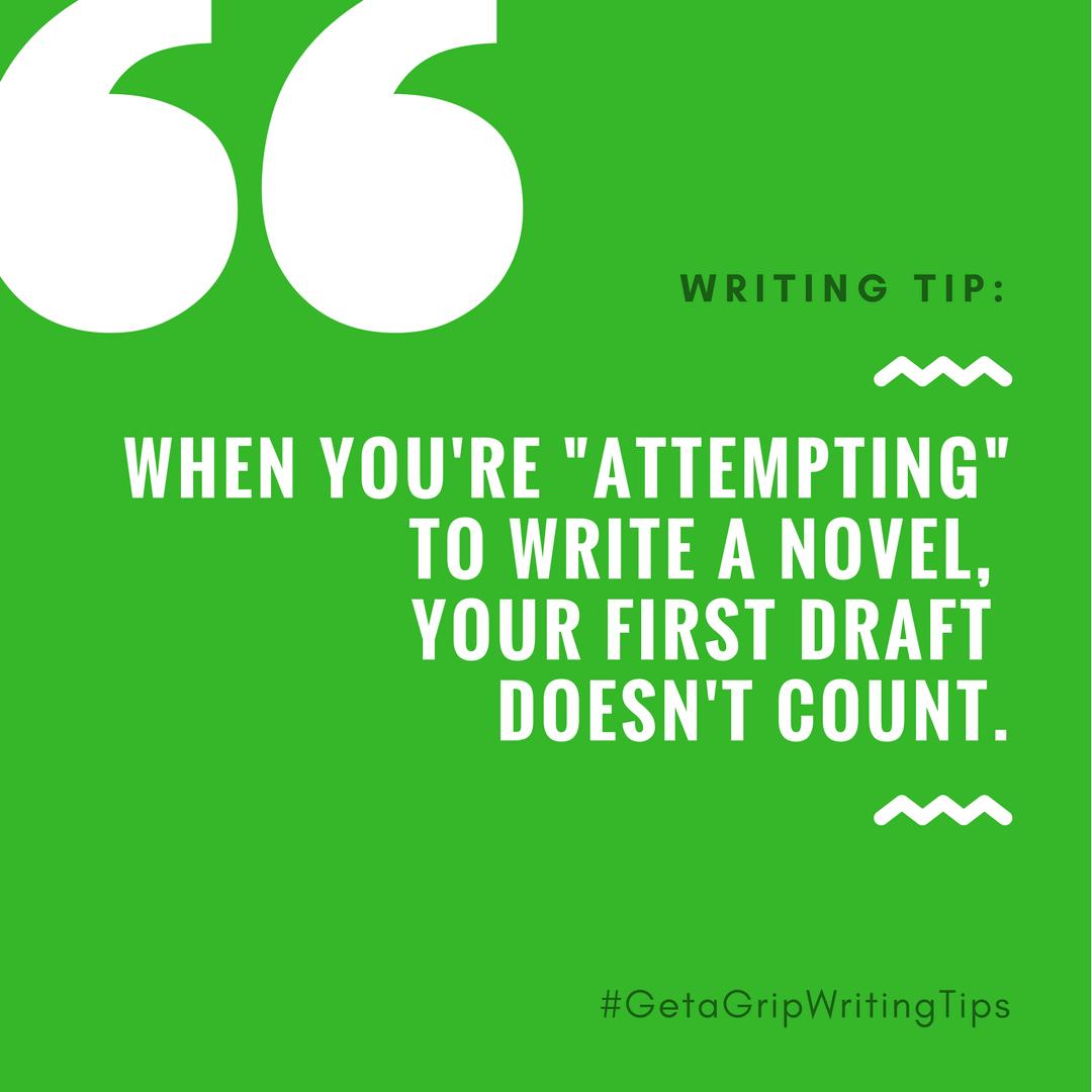 #GetAGripWritingTips 2